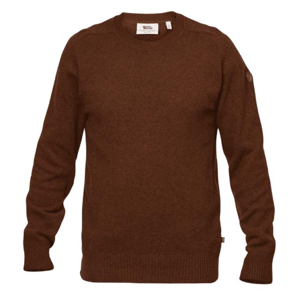 Fjallraven Ovik Re-Wool Sweater Autumn Leaf