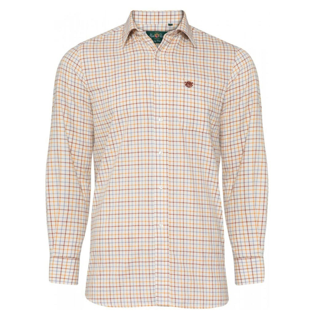 Alan Paine Ilkley LS check shirt country check