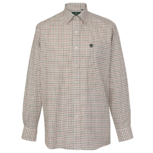 Alan Paine Ilkley LS check shirt country check 2