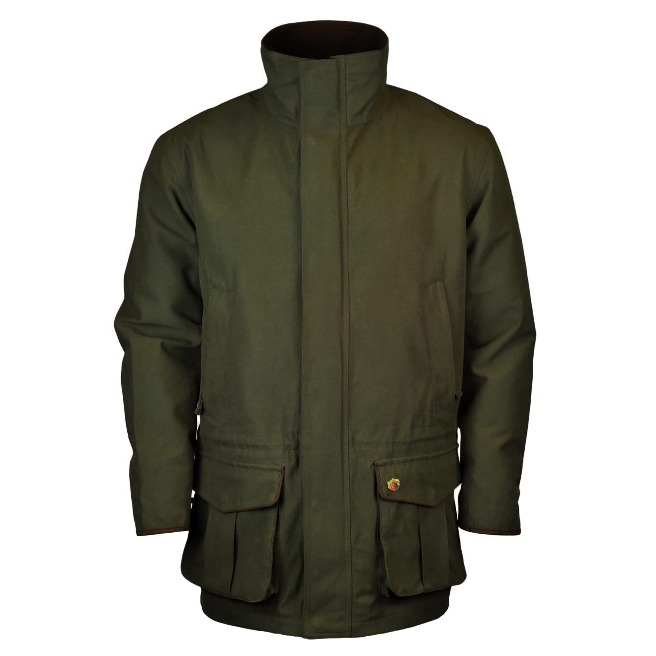 Alan Paine bergcot berwick waterproof shooting jacket olive 2