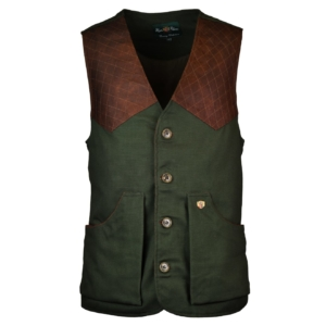 Alan Paine kendal shooting waistcoat olive