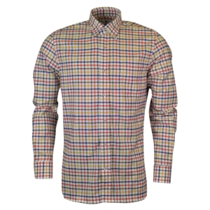 Alan Paine thornby check shirt white red yellow