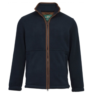 Alan paine Aylsham full zip fleece jacket dark navy