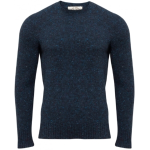 Alan paine strone donegal crew neck knit jumper glyde