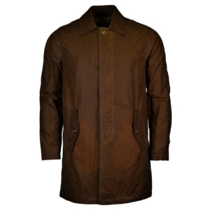 Baracuta G10 winter mac oil skin wax jacket khaki