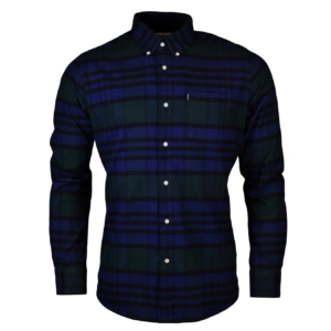 Barbour castlebay shirt forest