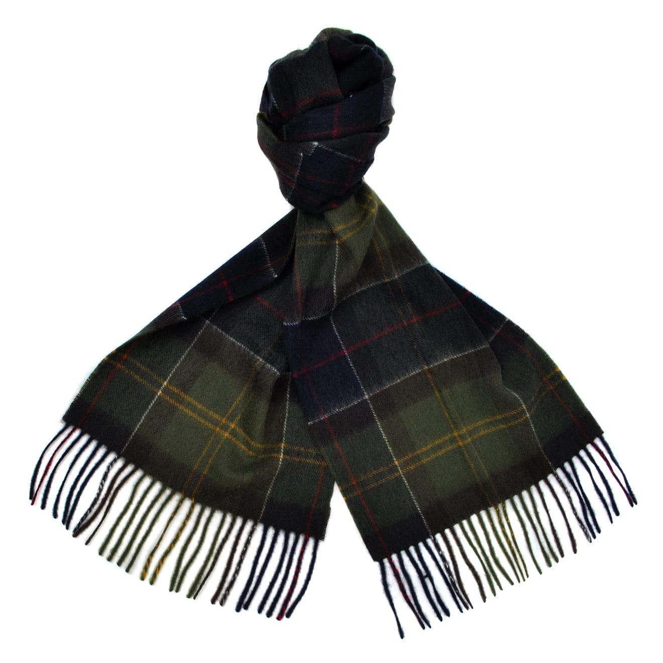 Barbour tartan scarf classic tartan