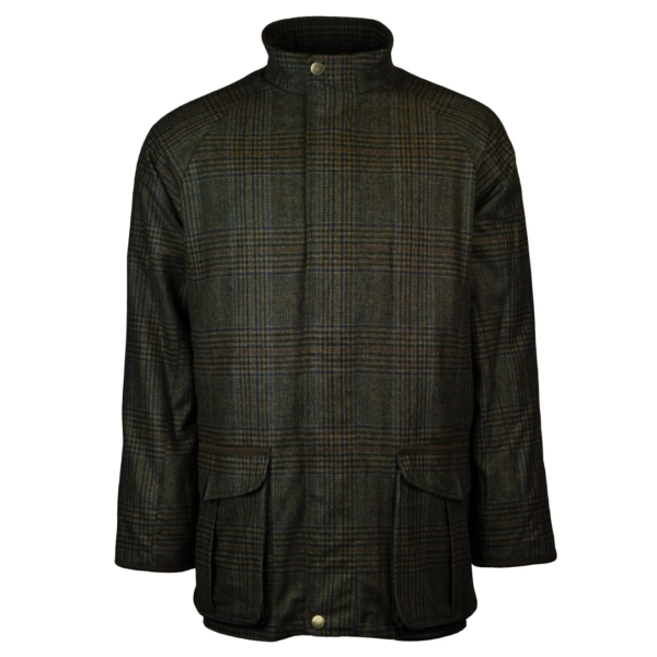 Beretta St james jacket green check 4