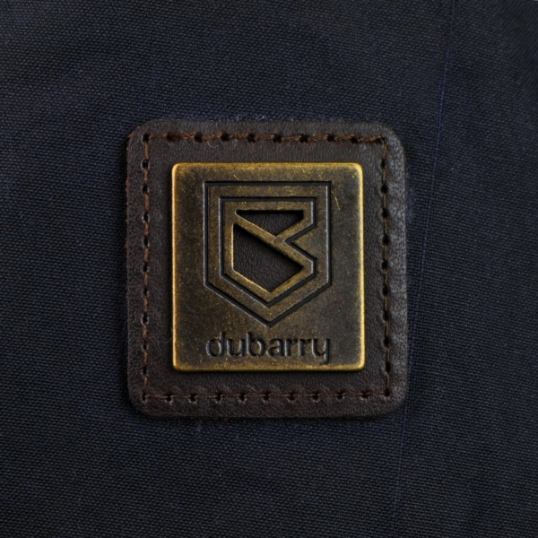 Dubarry Carrickfergus waxed jacket navy