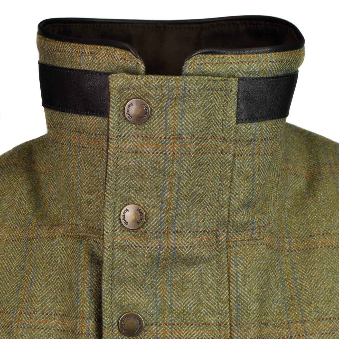 Dubarry ballyfin gortex tweed jacket green