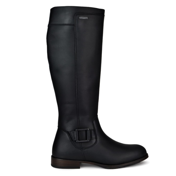 Dubarry womens limerick gortex leather boots black