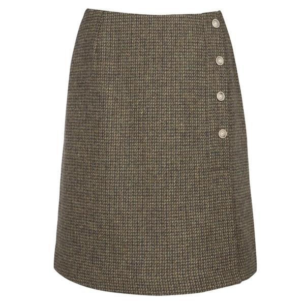 Dubarry womens majoram skirt heath