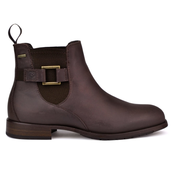 Dubarry womens monaghan leather boots old rum