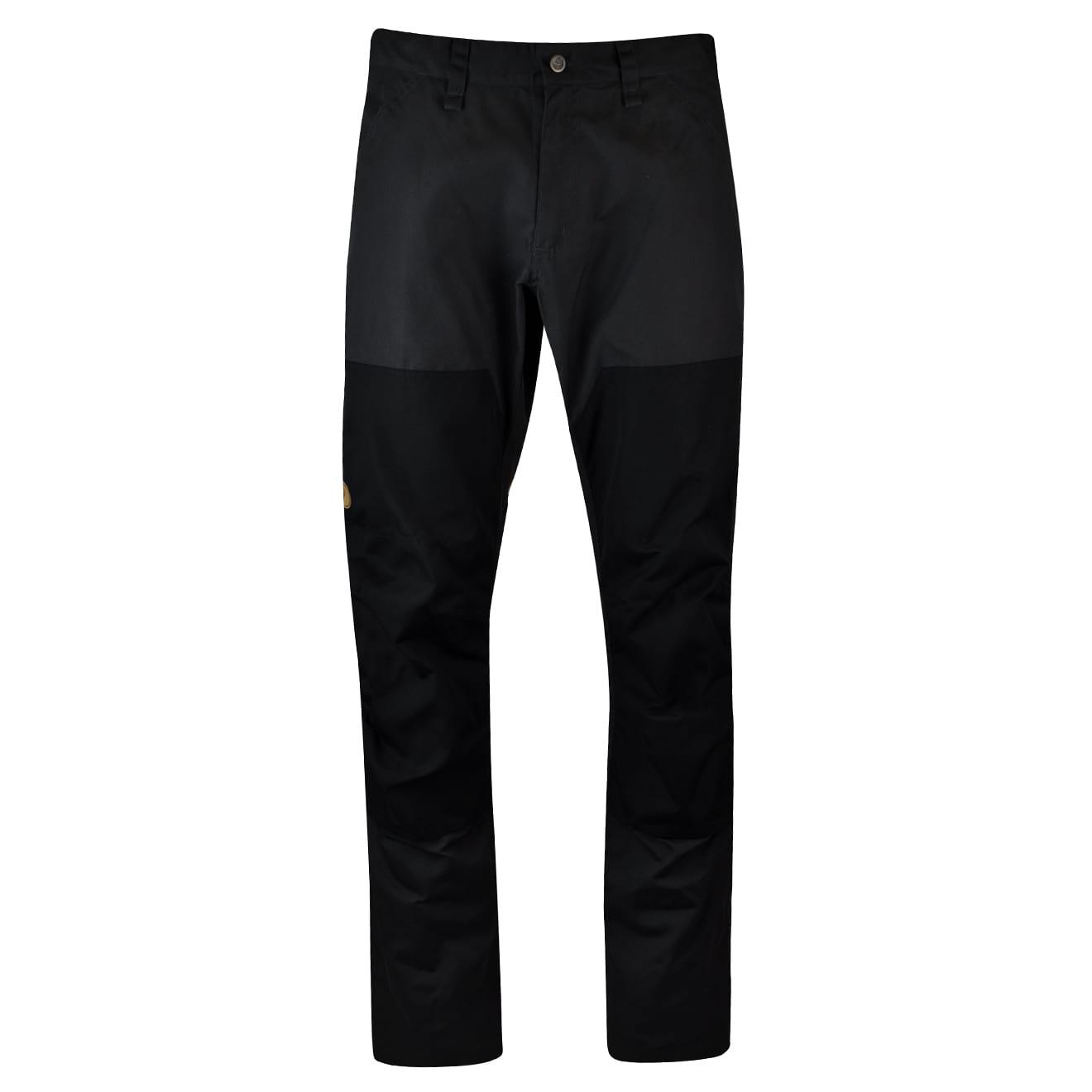 Fjallraven barents pro jeans dark grey black
