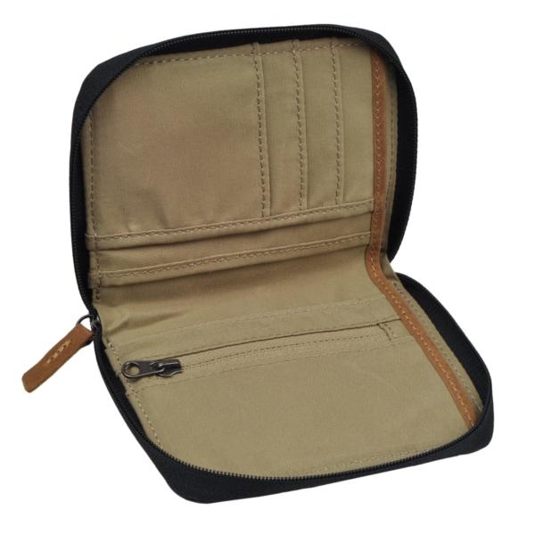 Fjallraven zip wallet dark grey