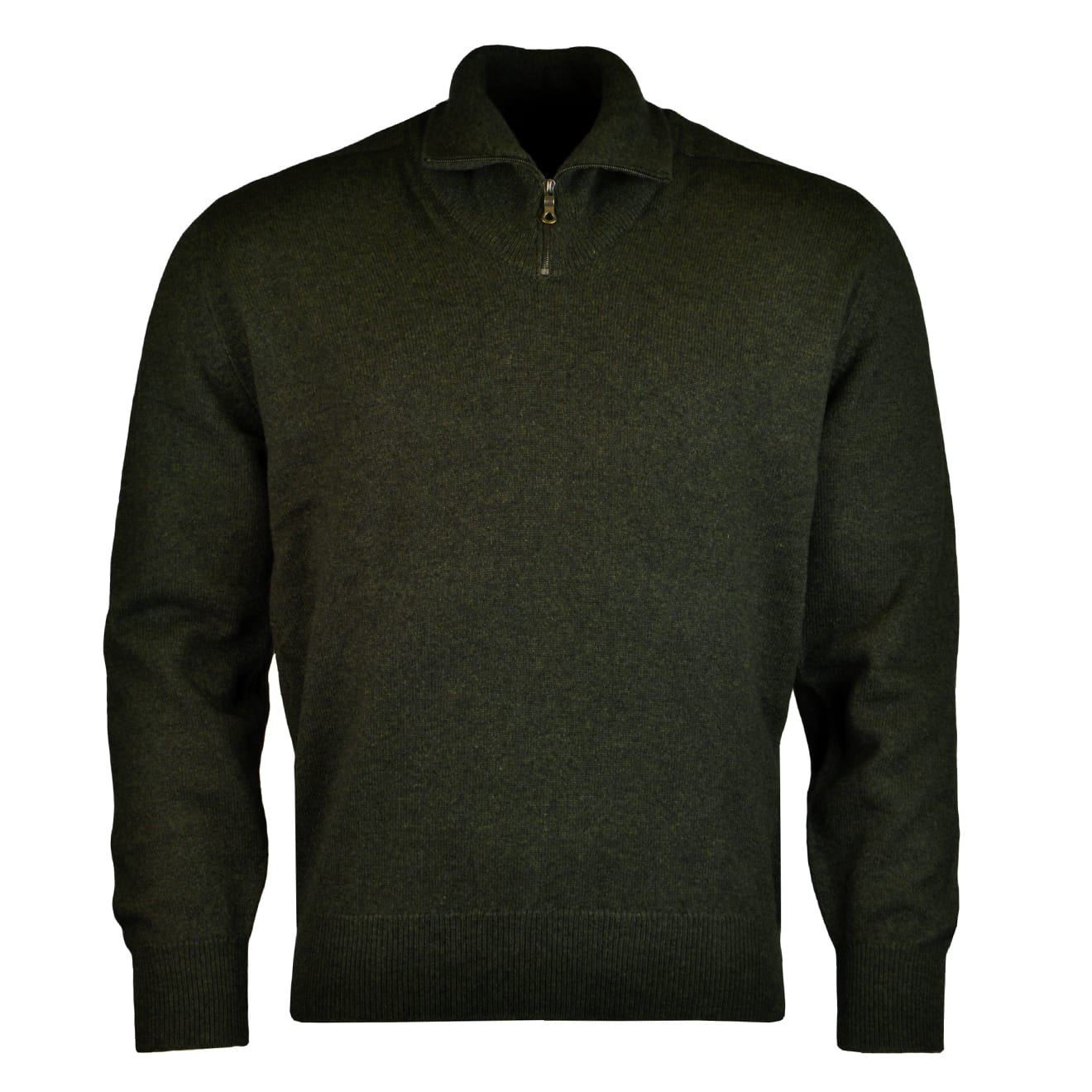 James Purdey Lambswool Half Zip Sweater - The Sporting Lodge