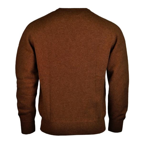James Purdey lambswool sweater brown