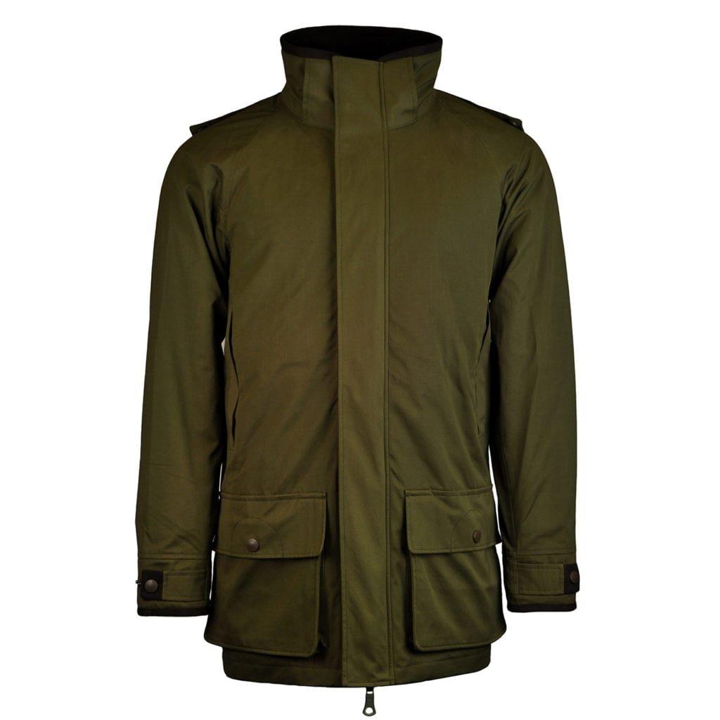 James Purdey woodcock field coat green