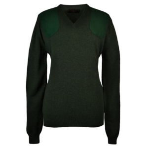 James purdey ladies V neck shooting sweater rosemary