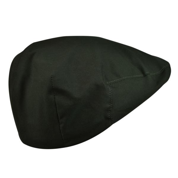 James purdey short peak dry waxed cap dark olive 2