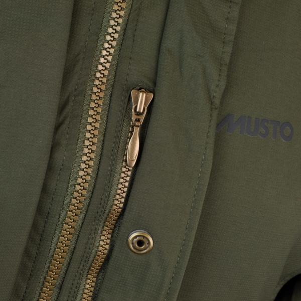 Musto womens fenland BR2 packaway jacket dark moss
