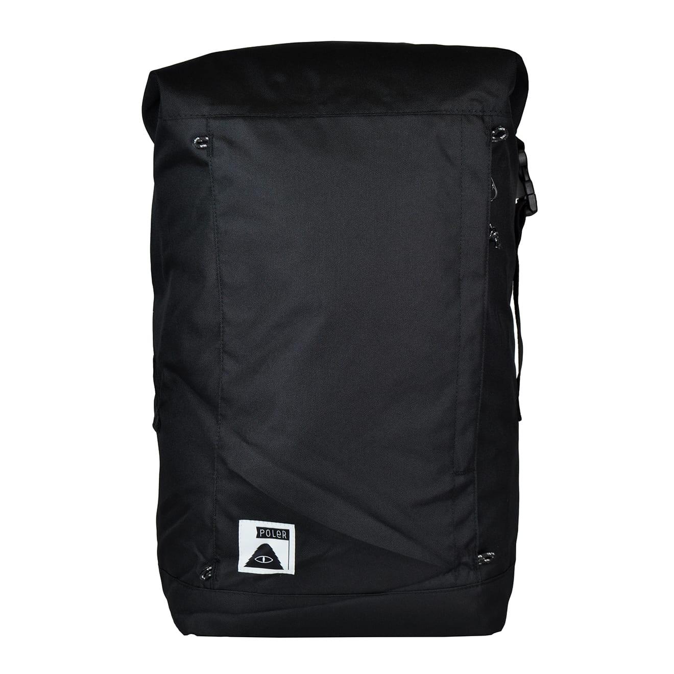 Poler Rolltop Backpack Black