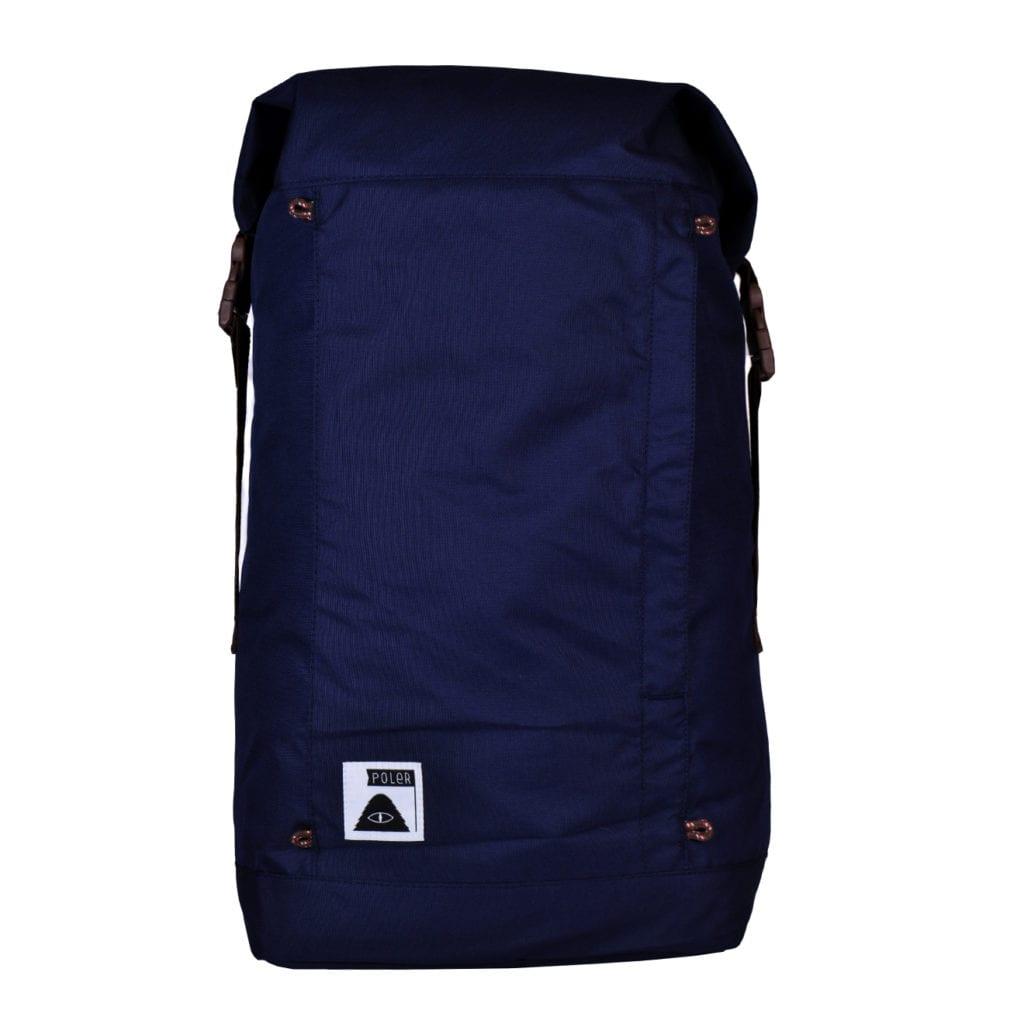 Poler Rolltop Backpack Navy
