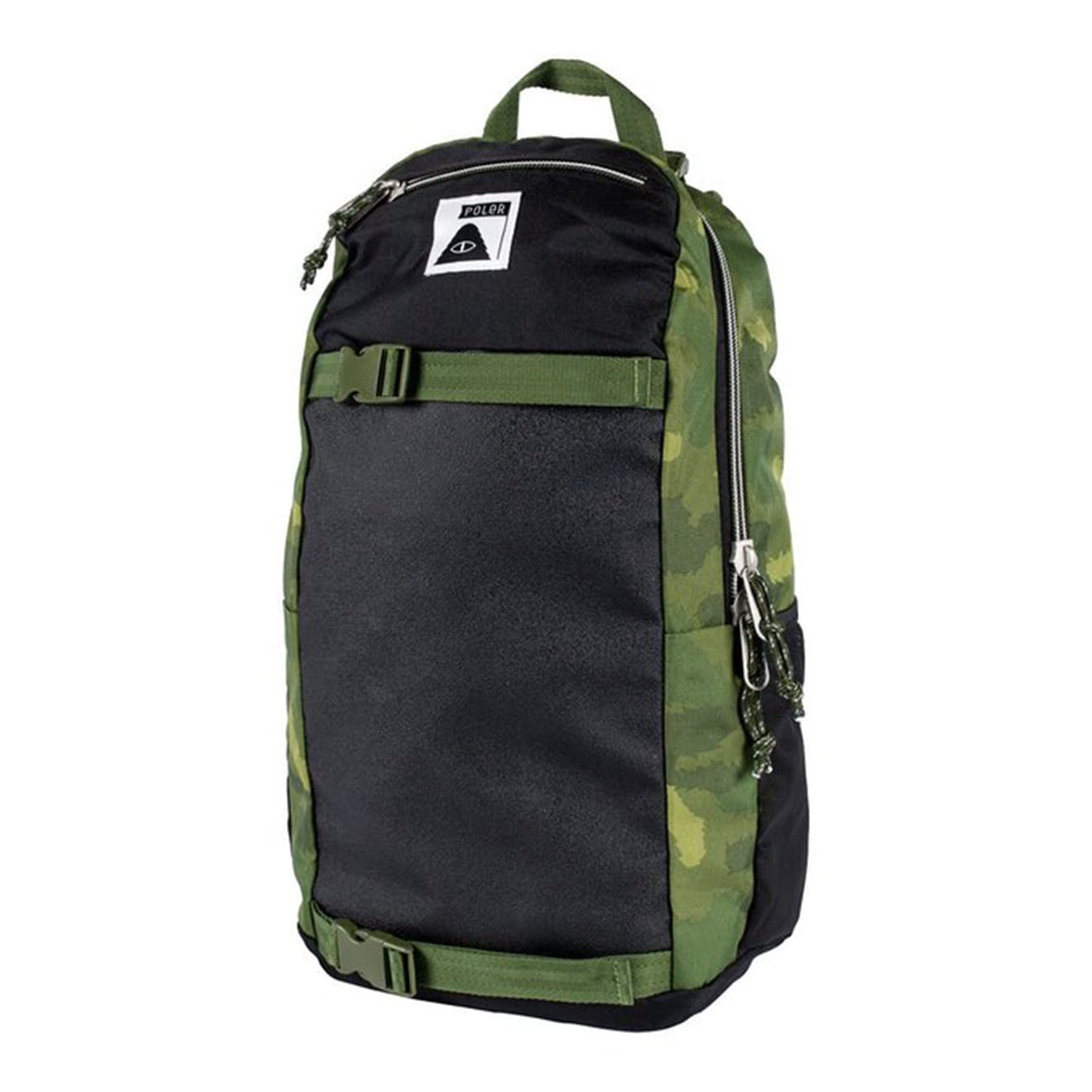 Poler Transport Pack green fury camo