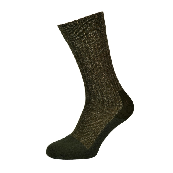 Red wing toe cap wool sock olive