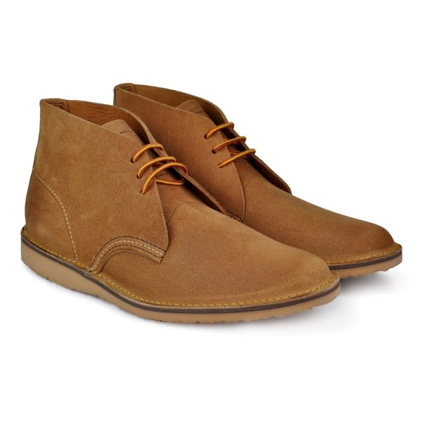 Red wing weekender chukka soft toe suede boot harthorn