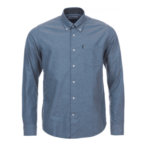 Barbour Oxford Tailored Shirt Dark Chambray