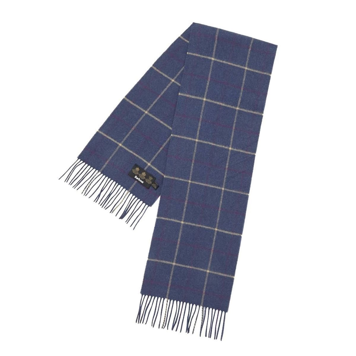barbour-tattersall-scarf-navy-plum