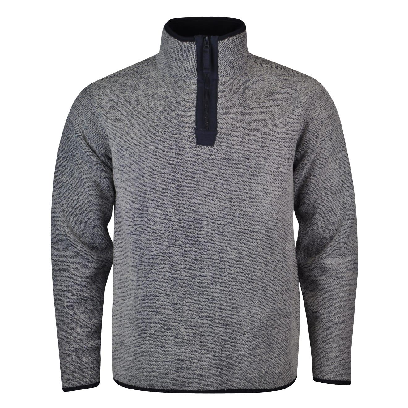 Alan paine buxton full zip fleece navy