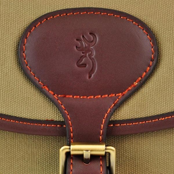Browning Heritage Ammunition cartridge bag green brown