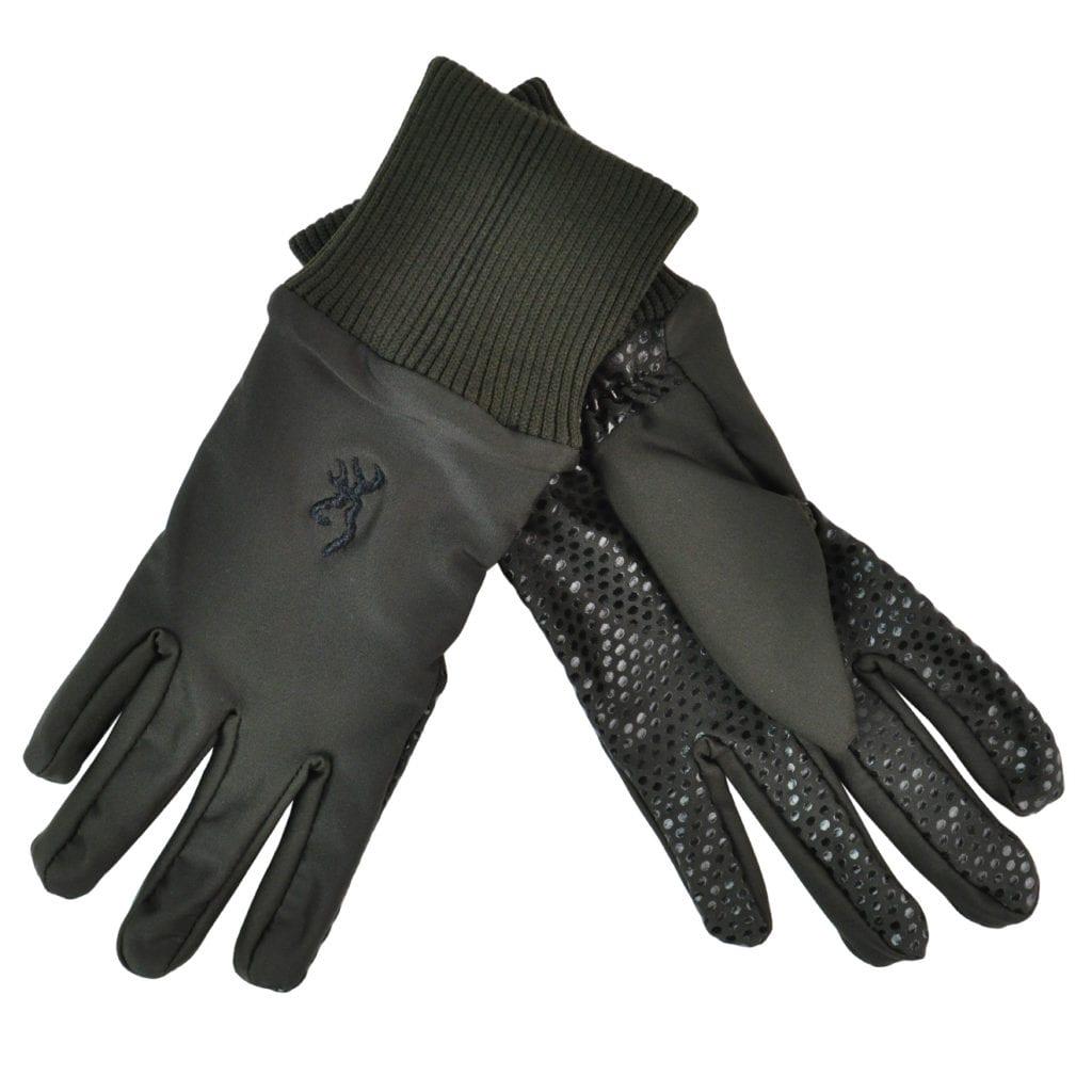Browning Stalker shooting gloves green