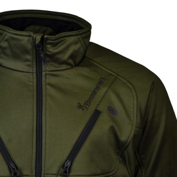 Browning hells canyon ll 3 layer jacket green 2