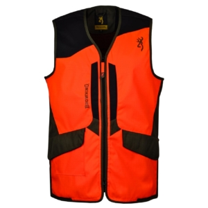 Browning tracker pro hunting vest blaze orange