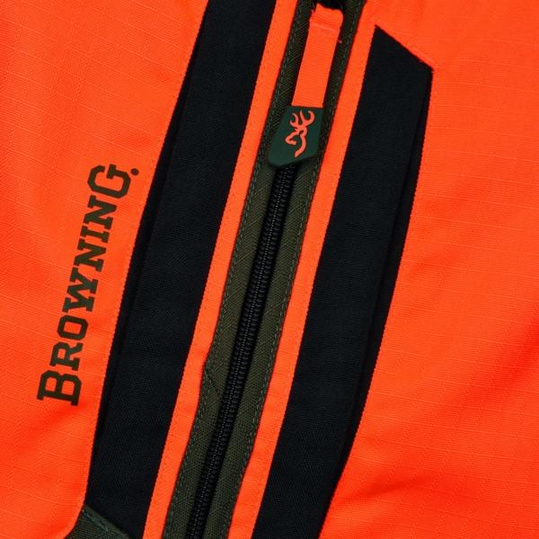 Browning tracker pro hunting vest blaze orange
