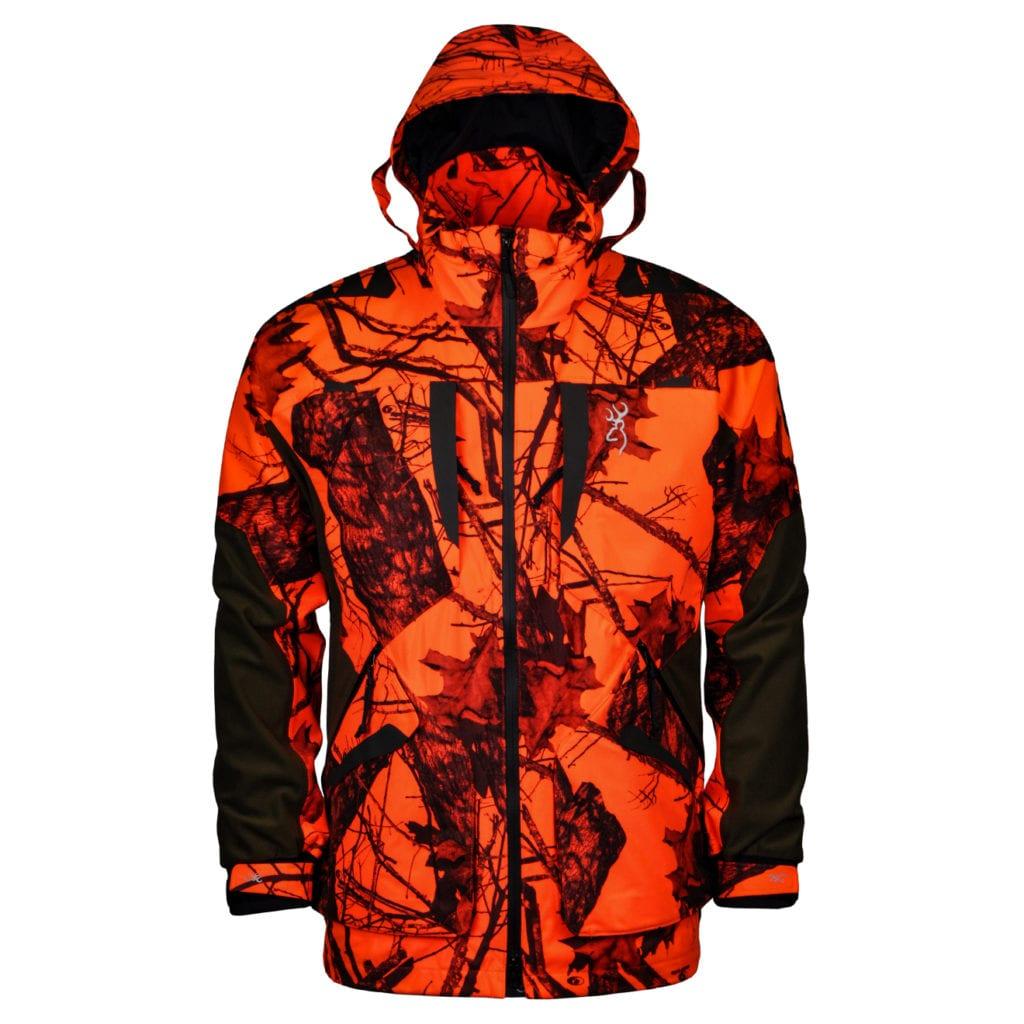 Browning xpo lightweight jacket camo blaze orange