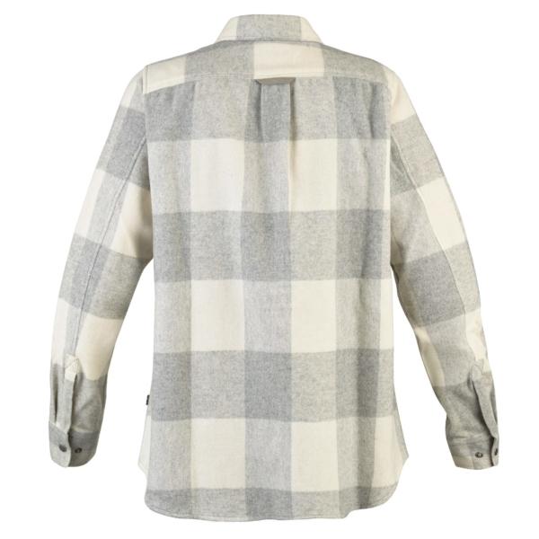 Fjallraven Canada shirt LS womens fog chalk white