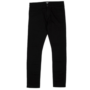 Carhartt rebel pant slim fit reg leg pant black rinsed