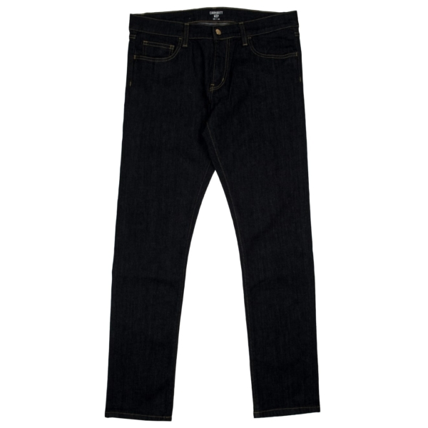 Carhartt rebel slim fit reg leg jean blue one wash