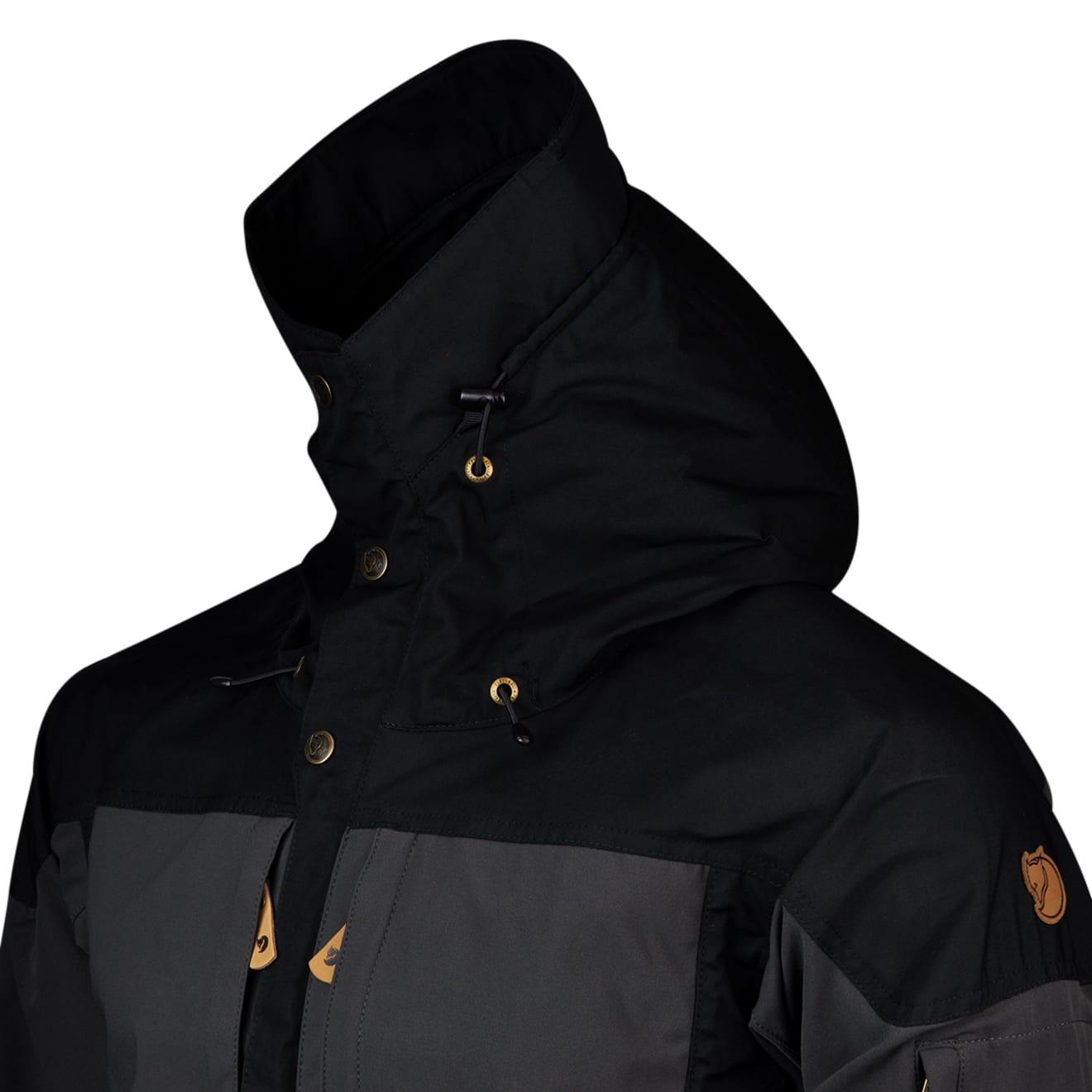 Werksverkauf niedrigster Rabatt Tropfenverschiffen Fjallraven Keb Jacket Black - The Sporting Lodge
