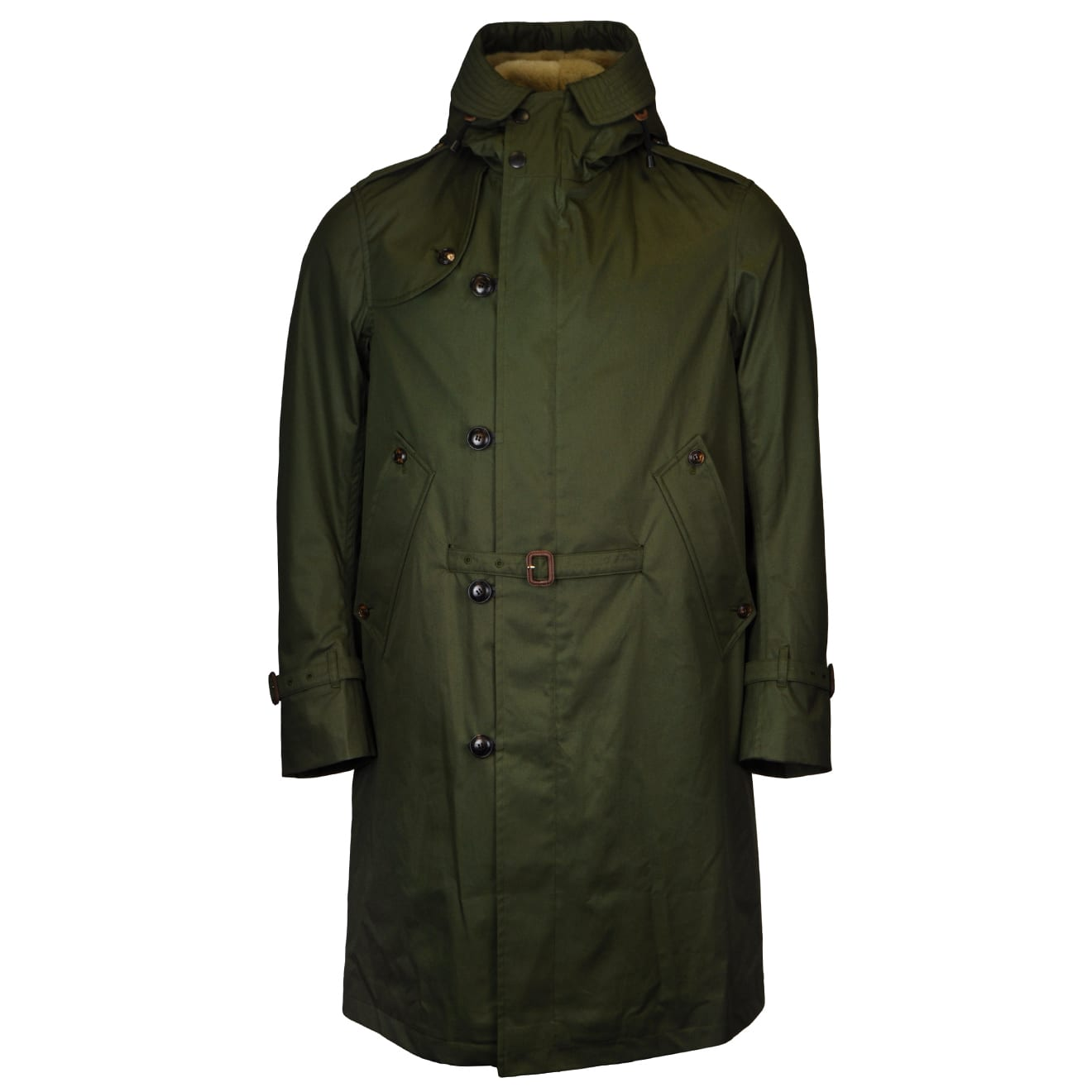 Grenfell cloth helvellyn jacket green