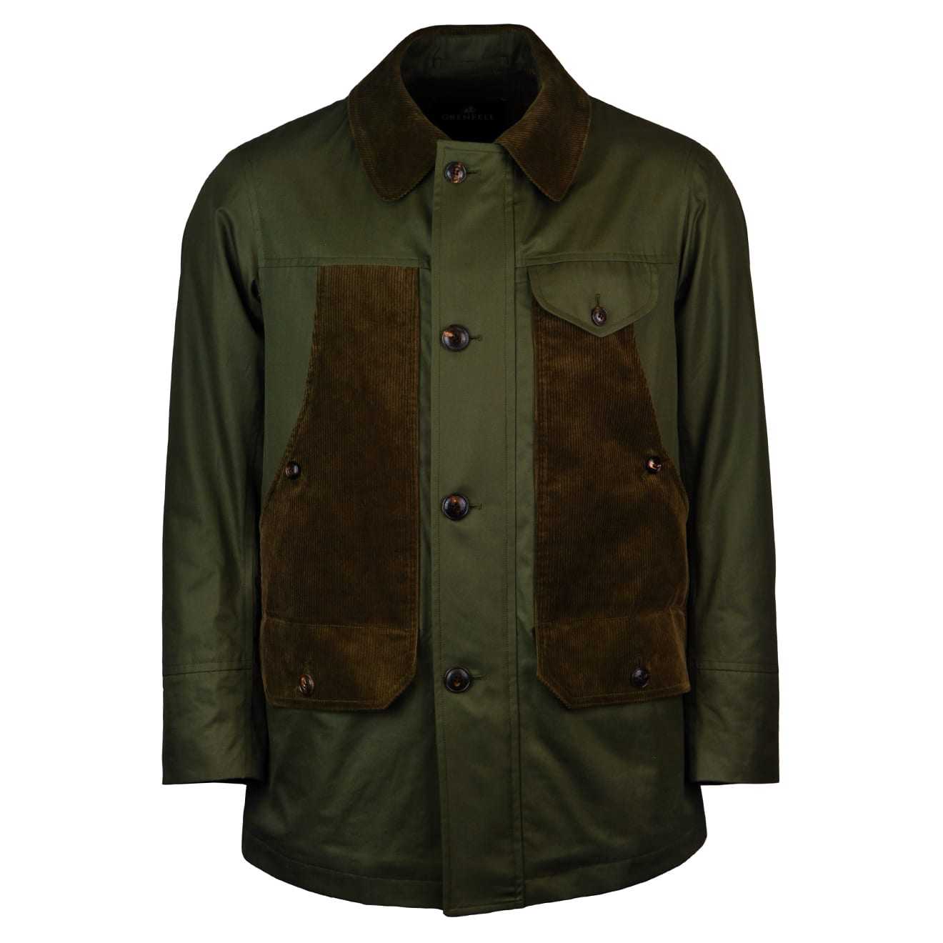 Grenfell countrymangrenfell cloth cordroy jacket green