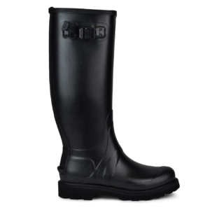 Hunter balmoral wellington boots black