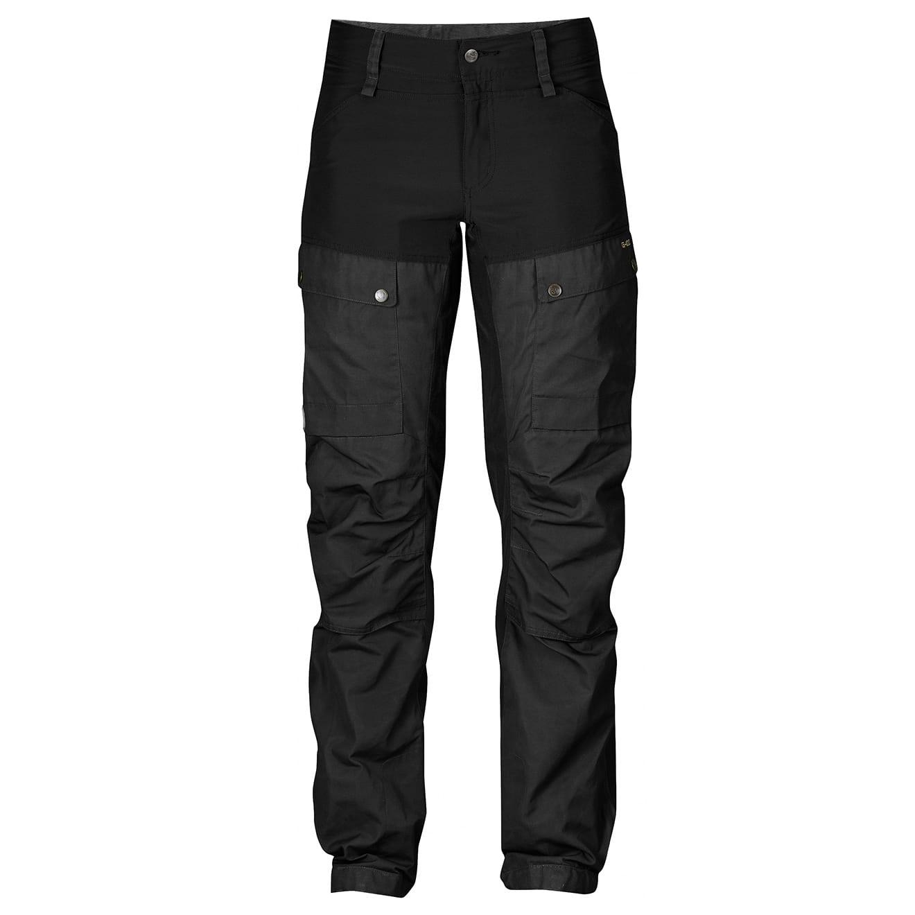 Fjallraven Keb trousers womens black