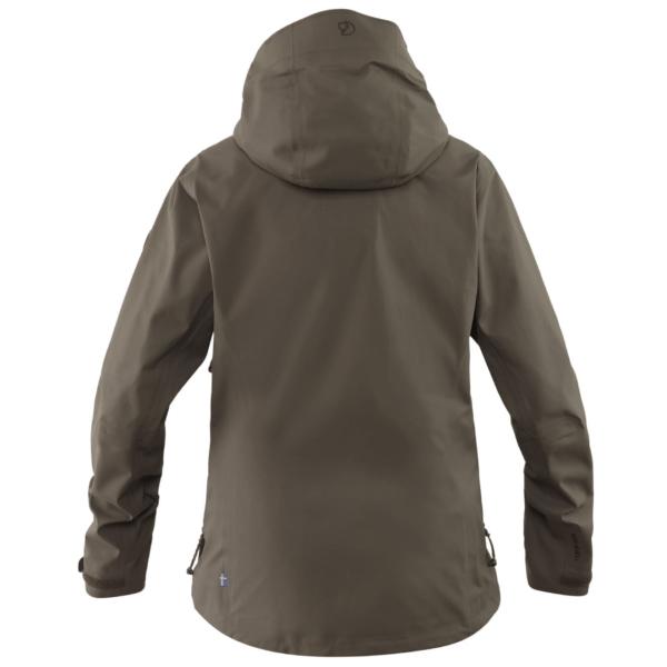 Fjallraven Lappland eco shell jacket womens dark olive