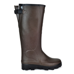 Le Chameau Ceres Soufflet side strap wellington Marron fon