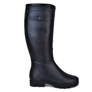Le Chameau womens country LD Fouree wellington boots noir
